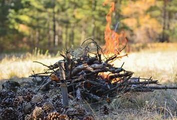 Kamp Ateşinde Isınmak