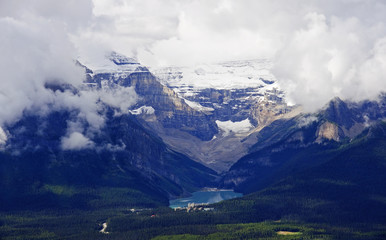 Banff National Park - view of Lake Louise