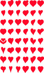 hearts collection for you design