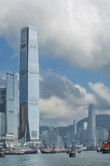 Aluminium Prints Peking Victoria Harbor of Hong Kong