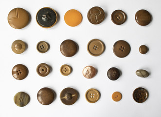 Mixed Collection of Buttons