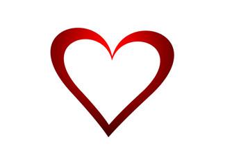 Herz / Hintergrund / Valentinstag / Vektor