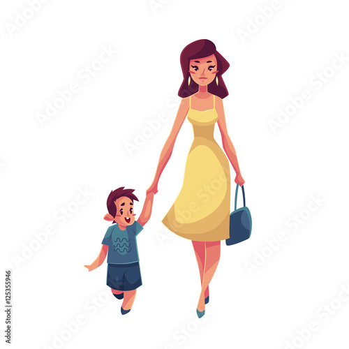 cartoon sex mother and son