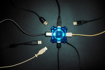 USB Hub Seperate the USB equipment connection