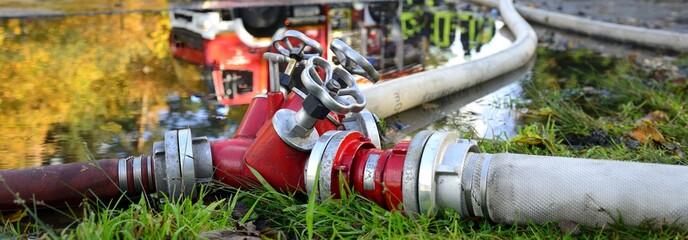 Header Feuerwehr Verteiler B-CBC im Einsatz