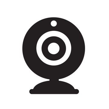 Webcam icon illustration design