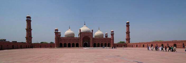 Prayer Hall of Badshahi or Imperial Mosque, Lahore, Pakistan
