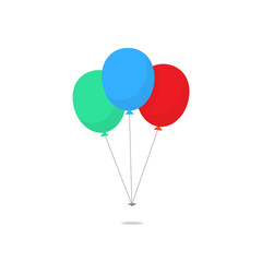 Balloons vector isolated