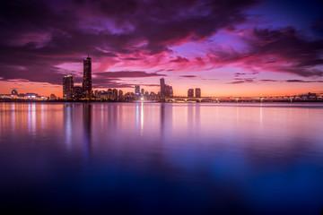 Foto op Aluminium Seoel Han River Twilight - Seoul, Korea