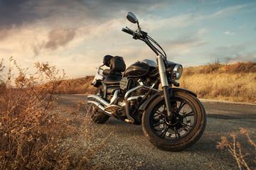 In de dag Fiets Motorbike