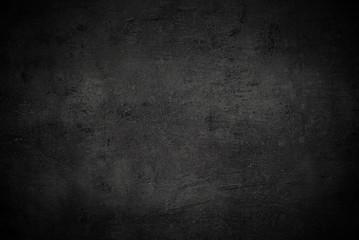 Empty black concrete surface texture