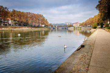 Quais de Saône à Lyon