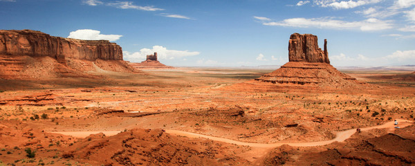 Photo sur Plexiglas Orange eclat Monument Valley Navajo Tribal Park - USA