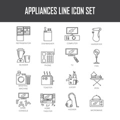 Applianse icon set.
