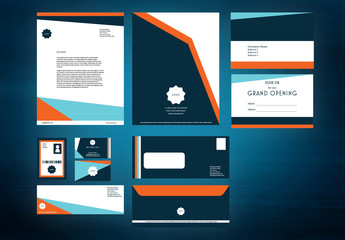 Business Stationery Branding Layouts Pack