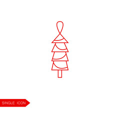 Christmas decoration vector icon.