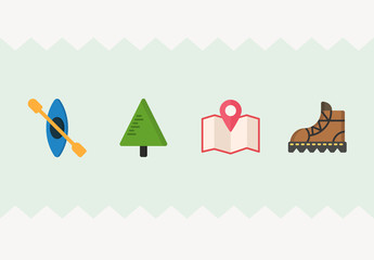 20 Camping Icons
