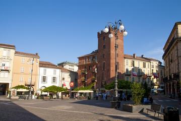 Fototapete - Asti - Piazza Statuto