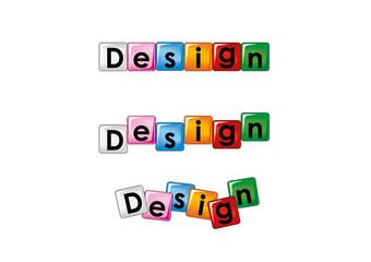 design scritta
