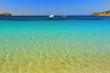 Tuerredda beach, South coast, Sardinia, Italy