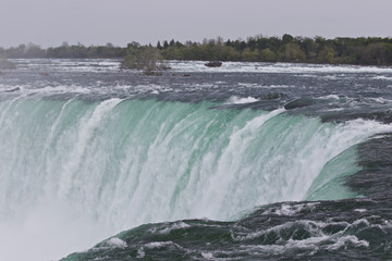Beautiful photo of the amazing Niagara falls from Canadian side