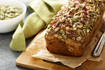 Healthy gluten free banana bread