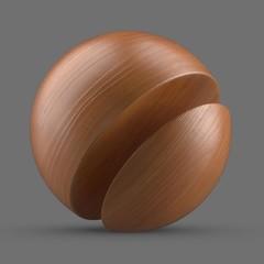 Brown beech wood