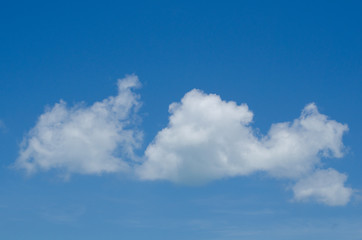 blue sky in happy day