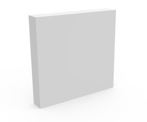 thin blank template box model