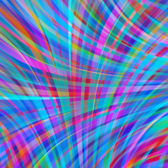 Colorful smooth light lines background. Pink, blue colors. Vector illustration.