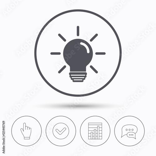 u0026quot light bulb icon  lamp illumination sign  u0026quot  stockfotos und