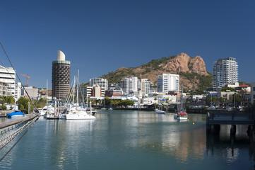 Townsville marina in Queensland, Australia