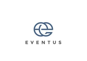 Letter E Logo Monogram vector Linear Business Luxury Fashion