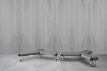 Modern Minimalist Interior, Walls Furniture, Minimalist Look, Concrete Wall Furniture, Minimalist Interior, Contemporary Concrete Wall, Modern Furniture, Wall Picture