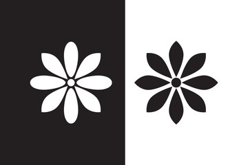 Vector Flower icon set