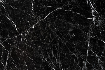Copy space. Black marble textured background.