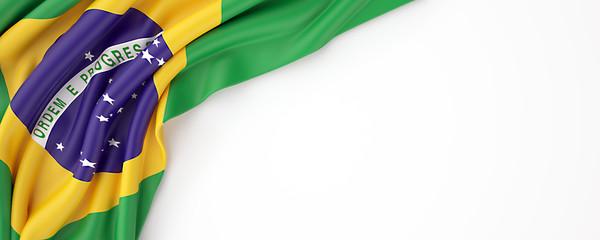 Brazilian flag Wall mural