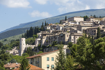 City of Spello in Umbria, Italy