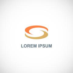 circle letter s company logo