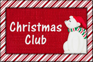 Christmas savings club message