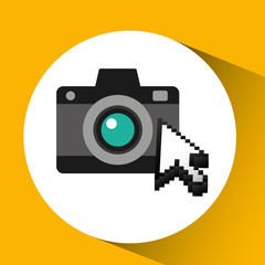 traveling concept, technology camera photo design, vector illustration  graphic