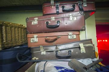 Suitcases Retro Photo
