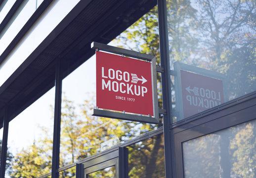 Store Brand Sign Mockup 2