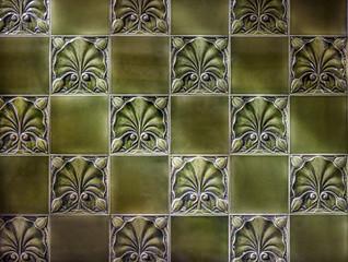 Vintage Green Tiles