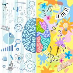 Creative Brain Composition
