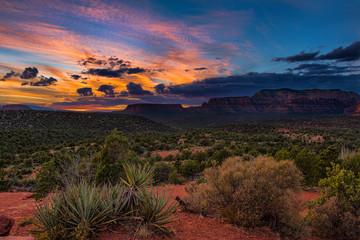 Sunset over Sedona, Arizona Fotoväggar