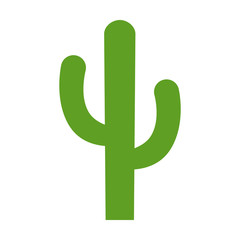 Cactus - desert plant flat color icon for apps and websites