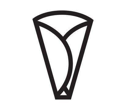 Crepe Icon Design