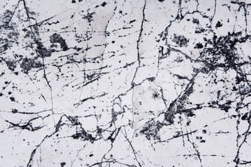Wall Mural - abstract natural marble black and white, black marble patterned
