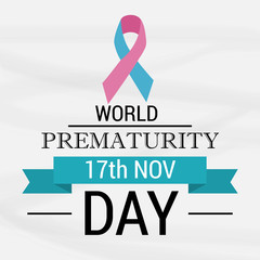 World Prematurity Day.